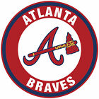 Atlanta Braves Circle Logo Vinyl Decal / Sticker 5 sizes!! on Ebay