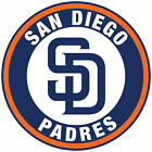 San Diego Padres logo Circle Logo Vinyl Decal  Sticker 5 sizes!! on Ebay