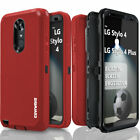 LG Stylo 4 / 4 PLUS, COVRWARE® Triple Layer Armor Case with Screen Protector