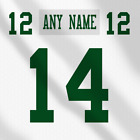 New York Jets NFL white Football Jersey Any Name Any Number Pro Lettering Kit $34.99 CAD on eBay