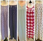 Croft & Barrow Women's Nightgowns Size M, L, 1X, 2X ,3X ,4X - NWT