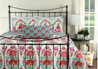 Hitchens Floral Reversible 100%Cotton Quilt Set, Bedspread, Coverlet image