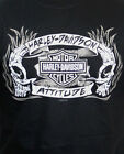 Harley-Davidson Mens H-D Attitude Skulls Black Cotton Short Sleeve Biker T-Shirt $14.99 USD on eBay
