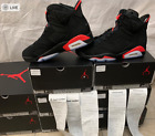 Air Jordan 6 Black Infrared Retro VI OG 384664 060 Authentic Size 8~13