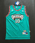 Vancouver Grizzlies #10 Mike Bibby Green Basketball Jersey Size: S - XXL on eBay