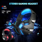 Gaming Headset Earphones Stereo Game Headphones MIC Fits for PS4 Xbox PC Laptops