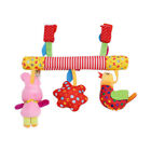 Unisex Baby Cradle Hanging Toy Bed Rattle Toy Plush Doll For Kid Toy Supplies EA