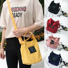 US Women Canvas Handbag Shoulder Bags Small Tote Purse Travel Messenger Hobo Bag