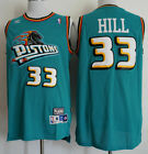 New Detroit Pistons #33 Grant Hill Basketball Retro Mesh Jersey Size S-XXL on eBay