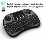 Mini Wireless Keyboard Touchpad Mouse Remote Control For Kodi,PC,Android TV box