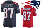 Rob Gronkowski #87 New England Patriots Football Mens Jersey 2019 HOT FreeShipp on eBay