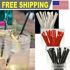 Внешний вид - Paper Straws Drink and Crafts Biodegradable FDA Approved - Solid Color