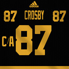 Sidney Crosby Pittsburgh Penguins Winter Classic 2019 Jersey Pro Lettering Kit