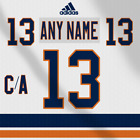 New York Islanders NHL Adidas White Jersey Any Name Any Number Pro Lettering Kit $30.45 USD on eBay