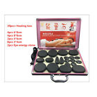 Natural Cold-hot SPA Energy stone Essential Oil Hot Massage Stone + Heater box