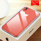 For iPhone XR Case Slim Shockproof Crystal Clear Bumper iPhone 10XR Skin Cover