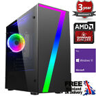 Ultra Fast Amd Quad Core Ddr4 Spec Your Graphics Home Gaming Pc Computer 7 Rgb