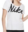 NIKE T SHIRTS WOMEN'S AUTHENTIC PICK DRIFIT GRAPHIC WORKOUT TEES V NECK XS - 2XL