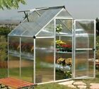PALRAM MYTHOS GREENHOUSE WALK-IN ALUMINIUM AND POLYCARBONATE IN 4 SIZES