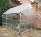 MYTHOS GREENHOUSE WALK-IN ALUMINIUM AND POLYCARBONATE IN 4 SIZES PALRAM-CANOPIA