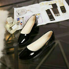 Women's Casual Flat Ballet Boat Shoes Loafers Slip On Peas Single Pointed toe