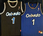 NWT Penny Hardaway #1 Orlando Magic Throwback Swingman Men's Jersey Black / Blue on eBay