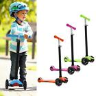 Outdoor Kick Scooter for Kids - Deluxe Aluminum 3 Wheel Glider Pushing Playing