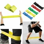 Elastic Resistance Loop Bands for Yoga Pilates Abs Exercise Workout Fitness Gym image