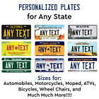 Kyпить Personalized Custom License Plate Tag for Any State Auto Car Bicycle ATV Bike  на еВаy.соm