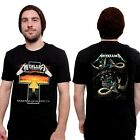 New Metallica - Master Of Puppets Cross Tour Vintage T-shirt Tee Retro Unisex image
