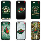 Minnesota Wild Team  Rubber Phone Cover Case Fits For iPhone / Samsung / LG $10.46 USD on eBay