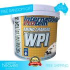 International Protein Amino Charged WPI 3kg Whey Protein Isolate Powder Aminos