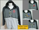 NEW L-4XL Gray/Silver Zip Up Hooded NBA MENS Polyester #78J Windbreaker Jacket on eBay