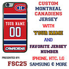 Montreal Canadiens Jersey Phone Case Cover Personalized for iPhone Samsung etc. $17.98 USD on eBay