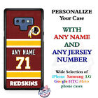 Washington Redskins A18 Personalized Football Phone Case Cover Fits Samsung etc. $27.98 USD on eBay