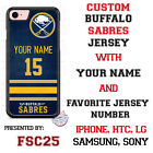 Buffalo Sabres Personalized Hockey Jersey Phone Case Cover for iPhone etc. $26.98 USD on eBay