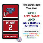 Atlanta Falcons A18 Red Personalized Football Phone Case Cover fits Samsung etc. $26.98 USD on eBay