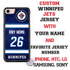 Winnipeg Jets Personalized Hockey Jersey Phone Case Cover for iPhone etc. $19.98 USD on eBay