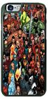 Marvel Comic Superhero Characters Collage Phone Case fits iPhone Samsung LG etc.