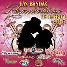 |1190063| Various Artists - Bandas Romanticas De America 2015 [CD x 1] New