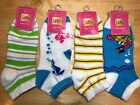 Brand New 3 pair pack Griffin Women's Collection printed socks size 9-11