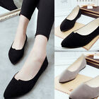 Fashion Women Lady Boat Shoes Casual Flat Ballet Slip On Flats Loafers Shoes HS