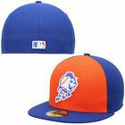 New York Mets 5950 New Era Diamond Era Fitted Cap Hat Authentic New on Ebay