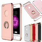 Ring Holder Stand Slim Electroplate Protective Case Cover For iPhone 7 / 7 Plus
