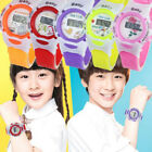 Colorful Boys Girls Kids Students Time Electronic Wrist Sport Digital Watches image