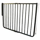 Cardinal Wrought Iron Decor Pet Dog Gate Durable Metal Safety for Indoors Stairs
