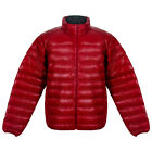 Triple FAT Goose Mens Embden Packable Lightweight Down Puffer Jacket | Red | NEW