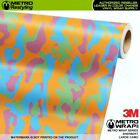 LARGE SHERBERT Camouflage Vinyl Vehicle Car Wrap Camo Film Sheet Roll Adhesive