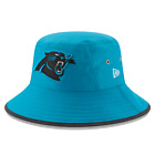 Carolina Panthers New Era Training Bucket Hat Blue Authentic New on eBay