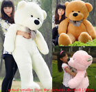 Large Teddy Bear Giant Teddy Bears Big Soft Plush Toys Kids 60/80/100cm UK hot